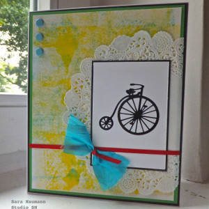 Colorful Bicycle Greeting Card