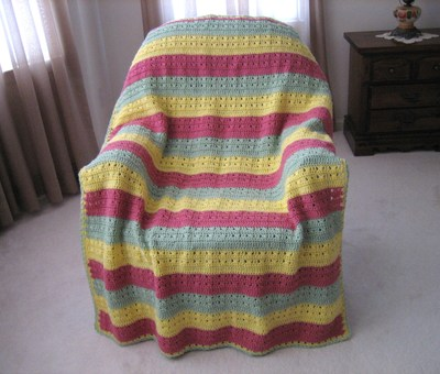 Fruit Salad Afghan 1
