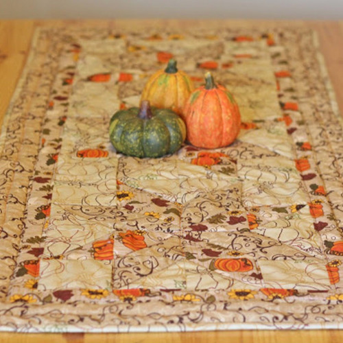 DIY Quilted Fall Table Runner IMR