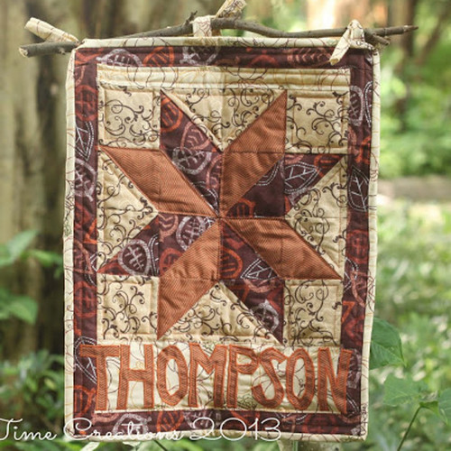 Cozy Quilted Fall Welcome Sign IMR