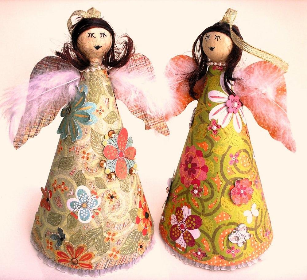 13 Christmas Angel Crafts Allfreechristmascrafts Com