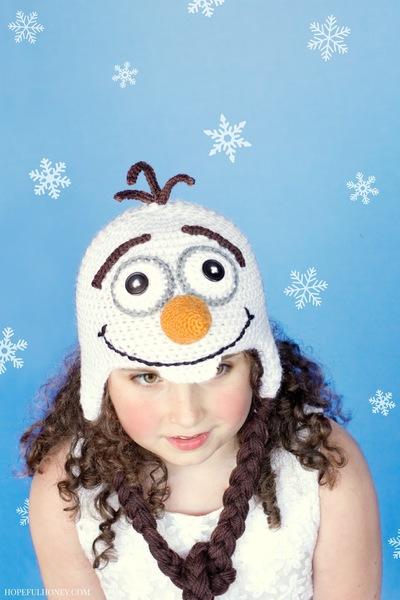 Frozen Snowman Hat Allfreecrochetcom