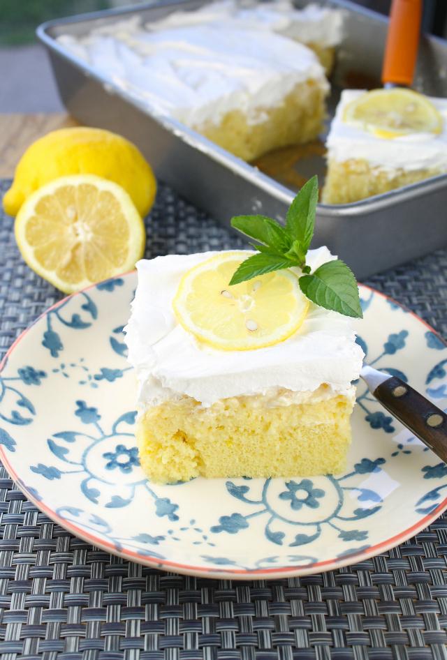 Lemon Pineapple Poke Cake Recipelion Com