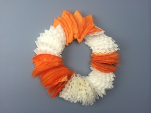 Fabulous Fall Coffee Filter Wreath
