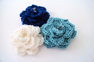 Two-Hour Crocodile Stitch Flower