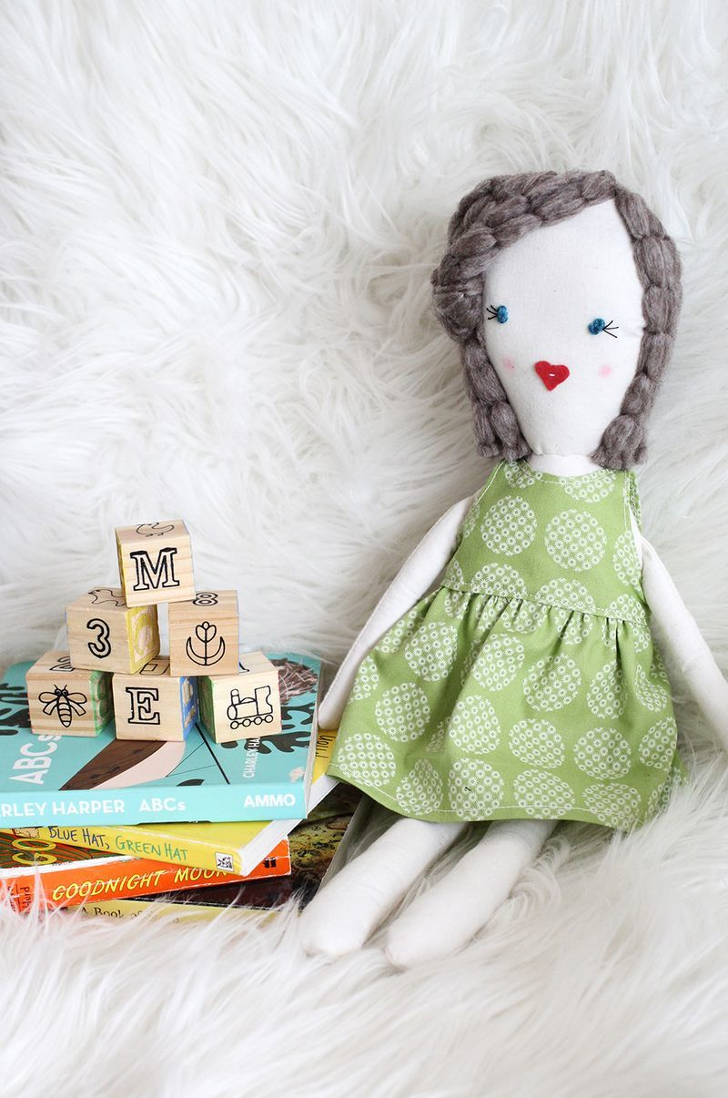 Traditional Rag Doll Pattern Allfreesewing Com