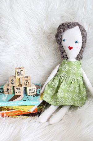 Traditional Rag Doll Pattern