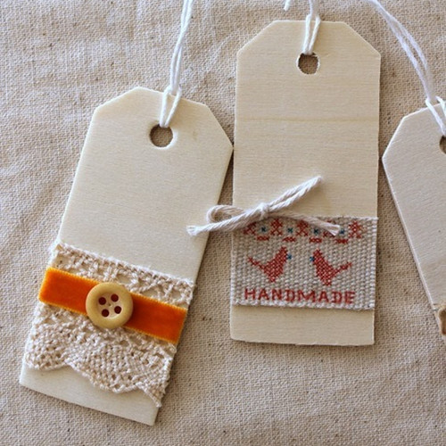 DIY Rustic Wooden Gift Tags IMR