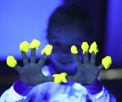 Glowing Homemade Play Dough Recipe