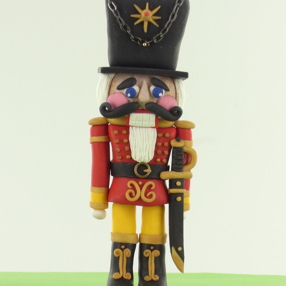 Diy Clay Christmas Nutcracker Allfreeholidaycrafts Com
