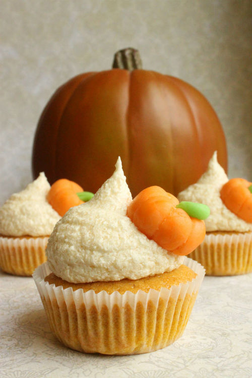 The Best Pumpkin Spice Cupcakes
