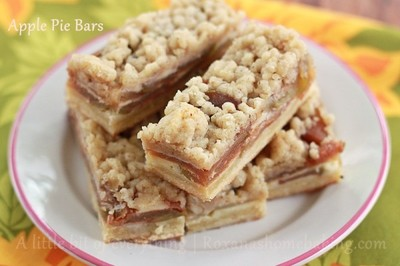 Awesome Autumn Apple Pie Bars