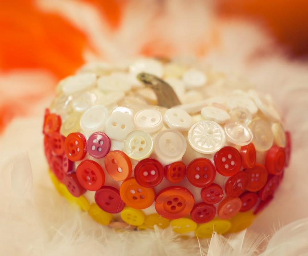 Candy Corn Button Pumpkins Allfreeholidaycrafts Com