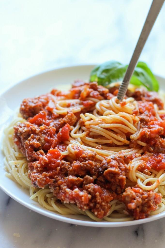 Slow Cooker Spaghetti Sauce Favehealthyrecipes Com