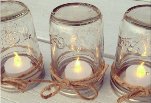 Dreamy Mason Jar Table Lanterns IMR New