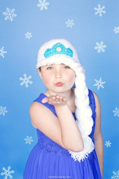 Musings of an Average Mom: Free Frozen crochet patterns | 600x400