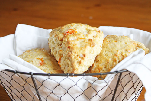 Carrot Coconut Scones