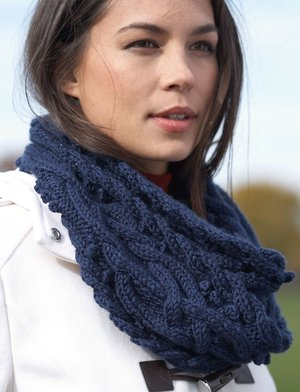 Mystic Vines Cable Cowl