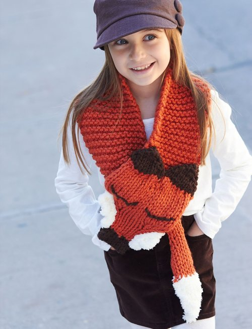 little fox scarf IR