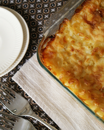 Mommas Baked Macaroni and Cheese IR