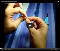 Video: Sewing 101: Hand Sewing Basics