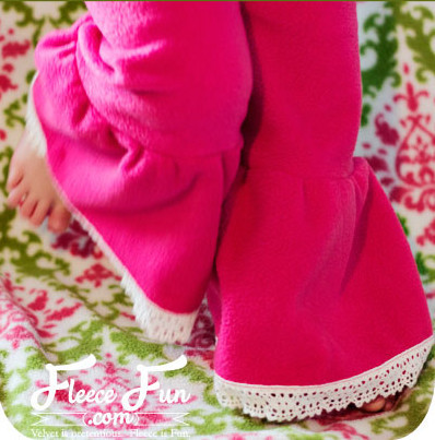 How to Make Toddler Ruffle Pants