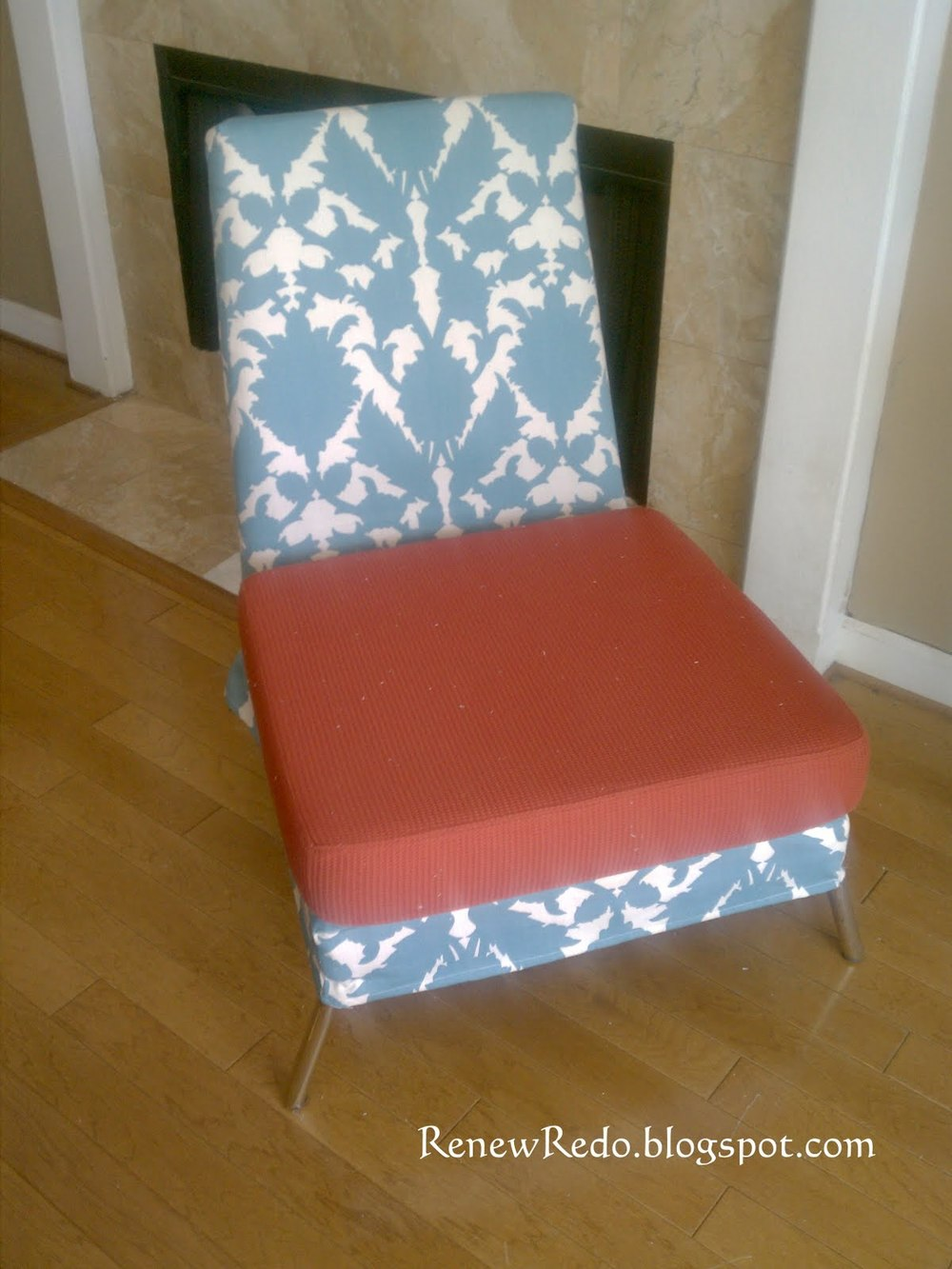How To Sew A Chair Slip Cover Allfreesewing Com