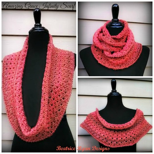 Amazing Grace Crochet Scarf