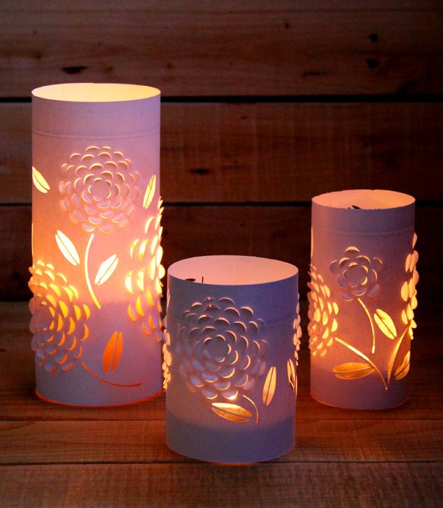 Beautiful 3D Paper Lanterns AllFreePaperCraftscom