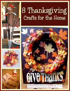 """8 Thanksgiving Crafts for the Home"" eBook"