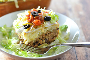 Easy Speedy Taco Bake