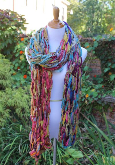 Arm Knit Scarf Kit