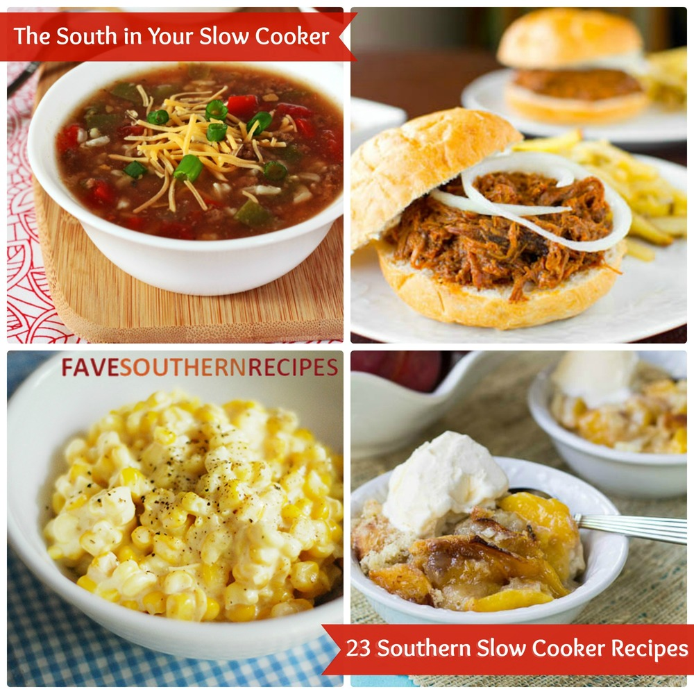 The South In Your Slow Cooker: 23 Southern Slow Cooker