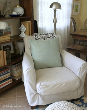 Sewn Slipcover Hack