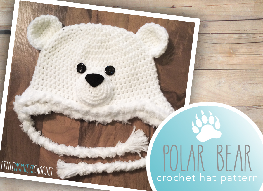 Polar Bear Baby Hat Allfreecrochet Com