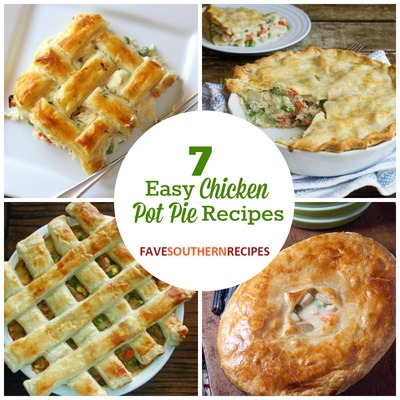 Easy Chicken Pot Pie Recipes