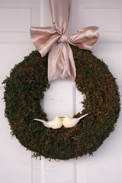 Five Dollar Gorgeous Moss Wreath