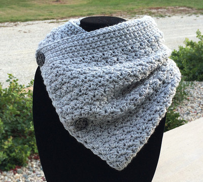 Cozy Buttoned Cowl