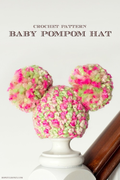 Sugarplum Pom Pom Baby Hat