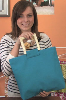 Sturdy Handle Tote Bag Pattern