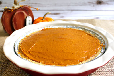 Delicious Decker Pumpkin Pie