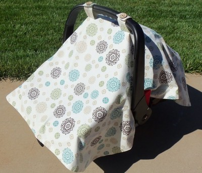 DIY Car Seat Canopy