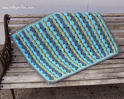 Beautiful Blue Baby Blanket