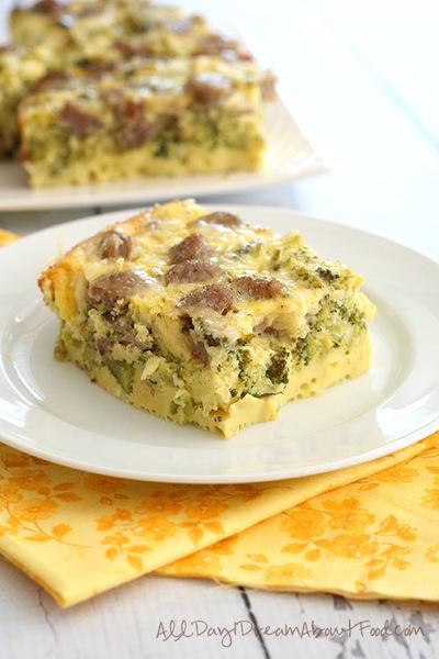 Skinny Slow Cooker Breakfast Casserole