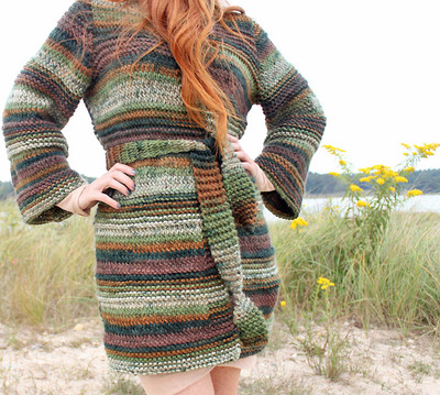 Deep Woods Textured Cardigan