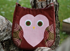 Owlish Messenger Bag