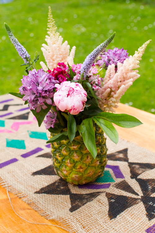 Super Sweet Pineapple Floral Arrangement