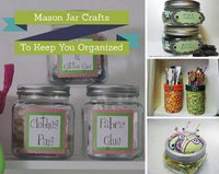 8 Mason Jar Crafts To Keep You Organized