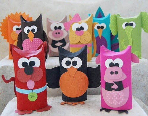Super Cute Toilet Paper Roll Animals