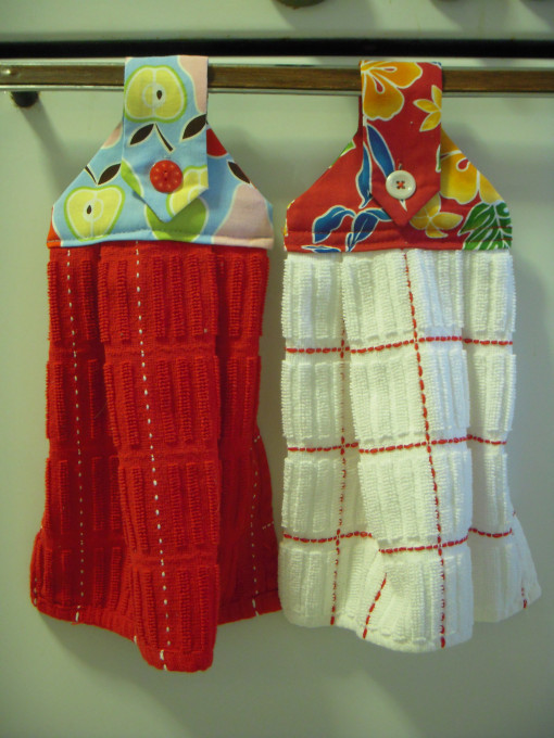 Great Hanging Dishtowels Allfreesewing ...